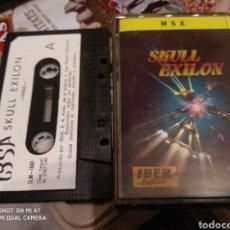 Videojuegos y Consolas: SKULL EXILON. Lote 152480654