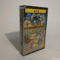 Videojuegos y Consolas: GAUNTLET. JUEGO MSX. Lote 153524282