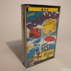 Videojuegos y Consolas: BOUNDER. JUEGO MSX. Lote 153525342