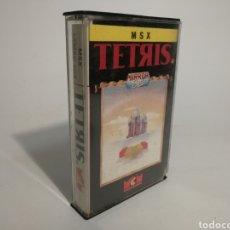 Videojuegos y Consolas: TETRIS. JUEGO MSX. Lote 153525933