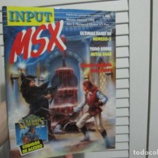 Videojuegos y Consolas: INPUT MSX 21 1988. Lote 156411914