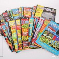 Videojuegos y Consolas: CONJUNTO DE 30 REVISTAS MSX CLUB - Nº 1 AL 17 + 15 NÚM. - AÑOS 1985 A 1990, PROGRAMACIÓN VIDEOJUEGOS. Lote 159654746