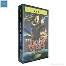 Videojuegos y Consolas: DEATH WISH 3 / EL JUSTICIERO DE LA NOCHE 3 / JUEGO MSX CINTA / ESPAÑOL / GREMLIN ERBE 1987. Lote 159901998