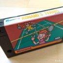 Videojuegos y Consolas: CARTUCHO MSX MSX2 KONAMI´S TENNIS KONAMI 1985 BUEN ESTADO FUNCIONADO PERFECTO. Lote 160918318