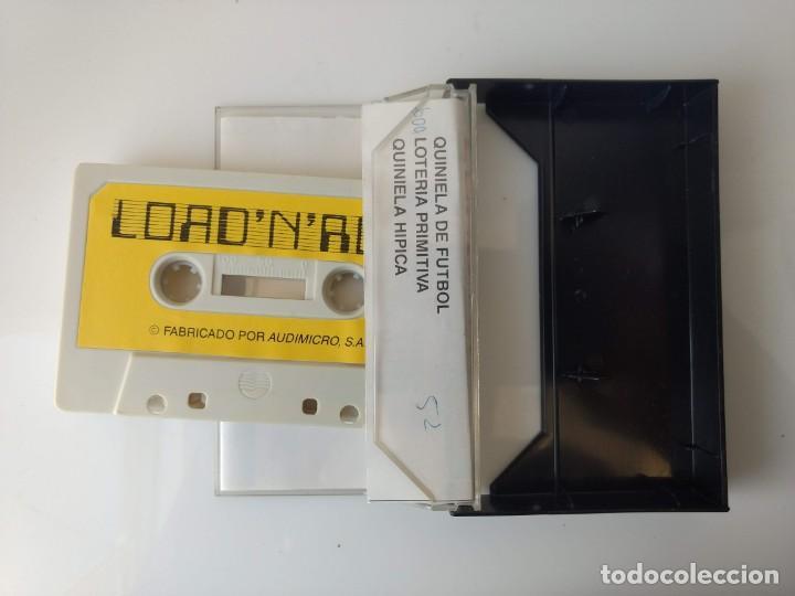 Videojuegos y Consolas: JUEGO MSX - LOAD 'N' RUN ESPECIAL APUESTAS - Foto 3 - 162282750
