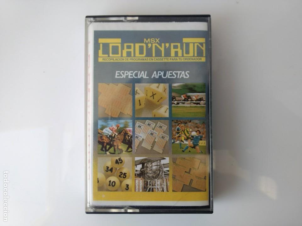 JUEGO MSX - LOAD 'N' RUN ESPECIAL APUESTAS (Juguetes - Videojuegos y Consolas - Msx)