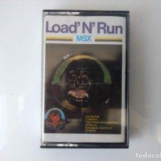 Videojuegos y Consolas: CASSETTE LOAD RUN WR + 1 MSX. Lote 162284214