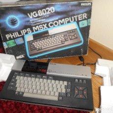 Videojuegos y Consolas: ORDENADOR CONSOLA MSX PHILIPS VG8020 VG 8020 COMPLETO CON CAJA Y MALETIN CON JUEGOS. Lote 164198322
