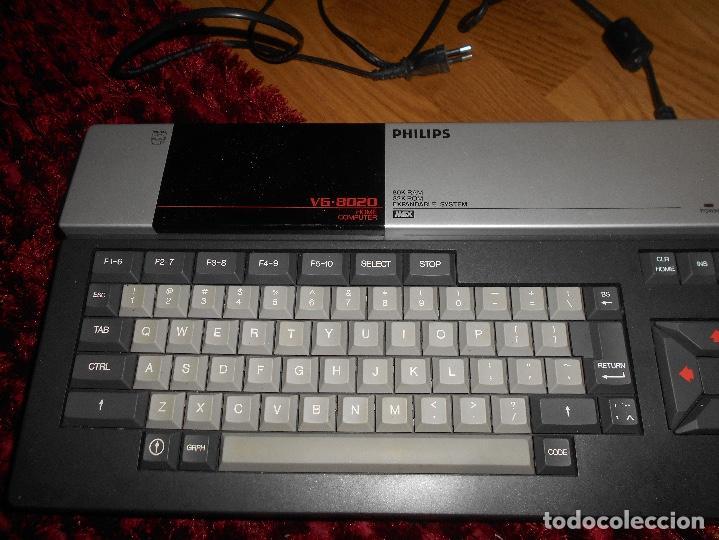 Videojuegos y Consolas: Ordenador Consola MSX Philips VG8020 VG 8020 Completo con Caja Y MALETIN CON JUEGOS - Foto 4 - 164198322