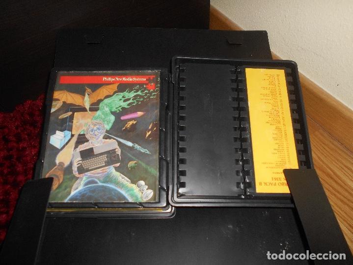 Videojuegos y Consolas: Ordenador Consola MSX Philips VG8020 VG 8020 Completo con Caja Y MALETIN CON JUEGOS - Foto 12 - 164198322