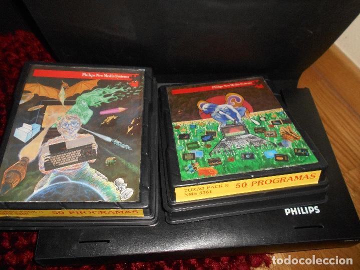 Videojuegos y Consolas: Ordenador Consola MSX Philips VG8020 VG 8020 Completo con Caja Y MALETIN CON JUEGOS - Foto 16 - 164198322