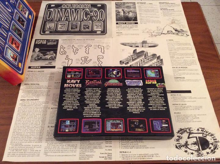 Videojuegos y Consolas: Coleccion Dinamic 90 / Dinamic Software 1989 MSX Navy Moves,Bestial Warrior,Comando Tracer, Aspar,.. - Foto 2 - 165771142