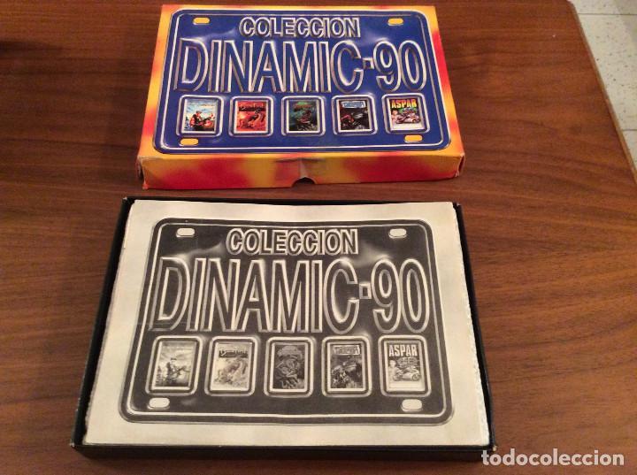 Videojuegos y Consolas: Coleccion Dinamic 90 / Dinamic Software 1989 MSX Navy Moves,Bestial Warrior,Comando Tracer, Aspar,.. - Foto 3 - 165771142