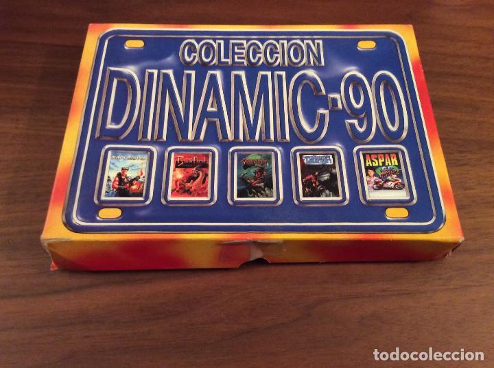 Videojuegos y Consolas: Coleccion Dinamic 90 / Dinamic Software 1989 MSX Navy Moves,Bestial Warrior,Comando Tracer, Aspar,.. - Foto 4 - 165771142
