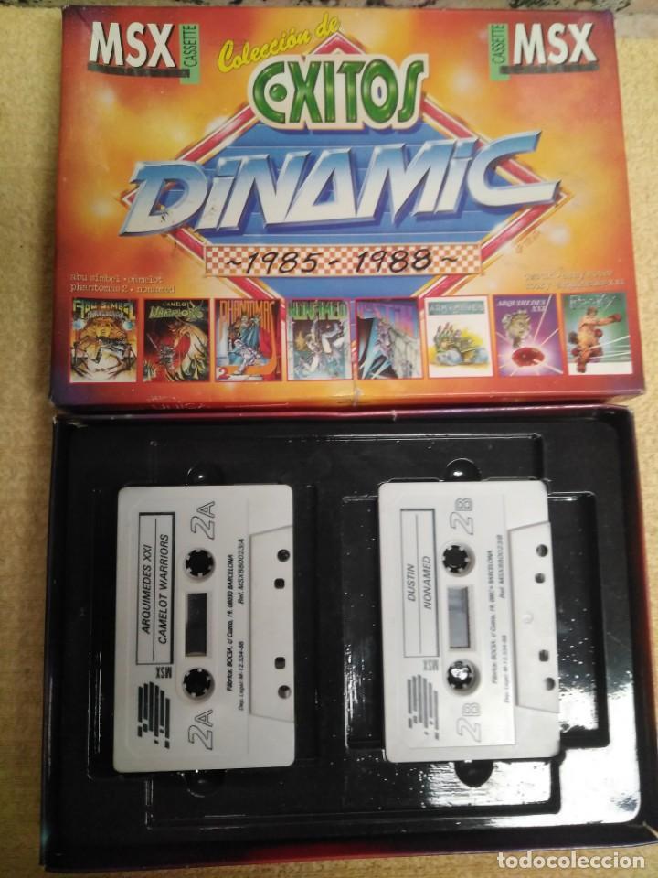 Videojuegos y Consolas: Juego Msx Éxitos Dinamic 1985-1988 - Foto 2 - 166962608