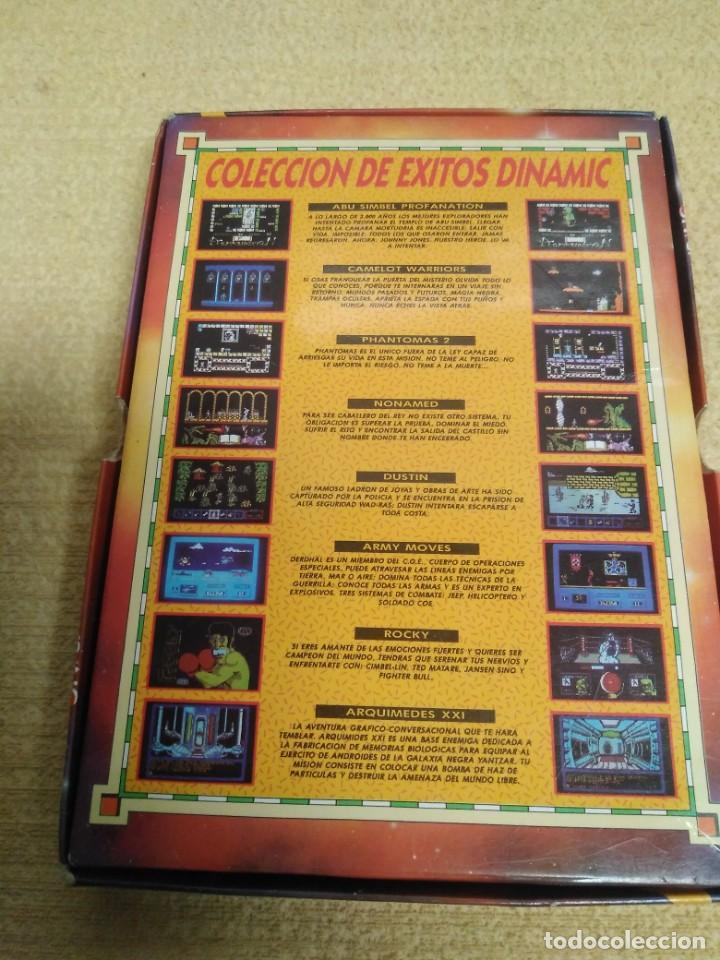 Videojuegos y Consolas: Juego Msx Éxitos Dinamic 1985-1988 - Foto 3 - 166962608
