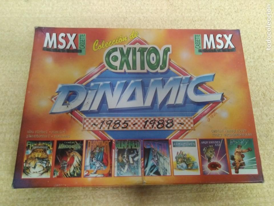 JUEGO MSX ÉXITOS DINAMIC 1985-1988 (Juguetes - Videojuegos y Consolas - Msx)