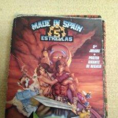 Videojuegos y Consolas: JUEGO MSX MADE IN SPAIN 5 ESTRELLAS. Lote 166963068