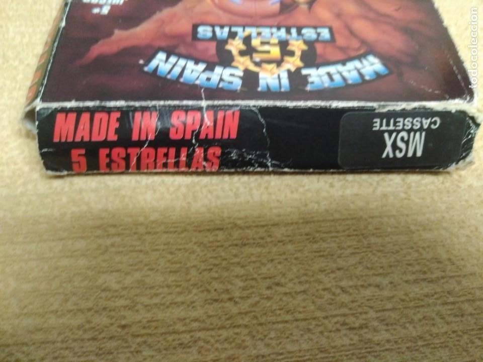 Videojuegos y Consolas: Juego Msx Made in Spain 5 estrellas - Foto 4 - 166963068