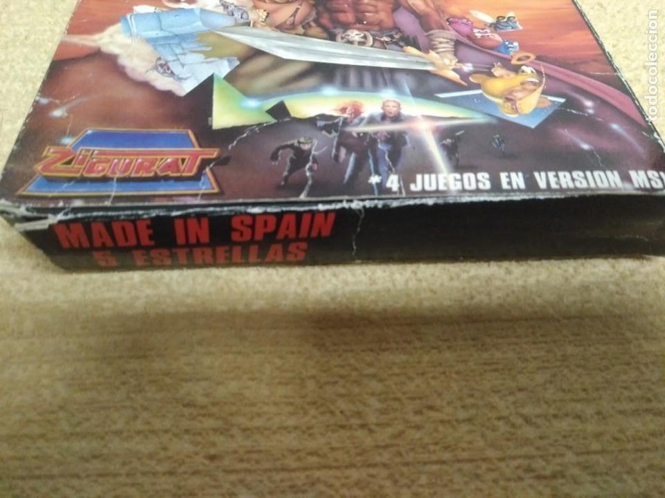 Videojuegos y Consolas: Juego Msx Made in Spain 5 estrellas - Foto 5 - 166963068