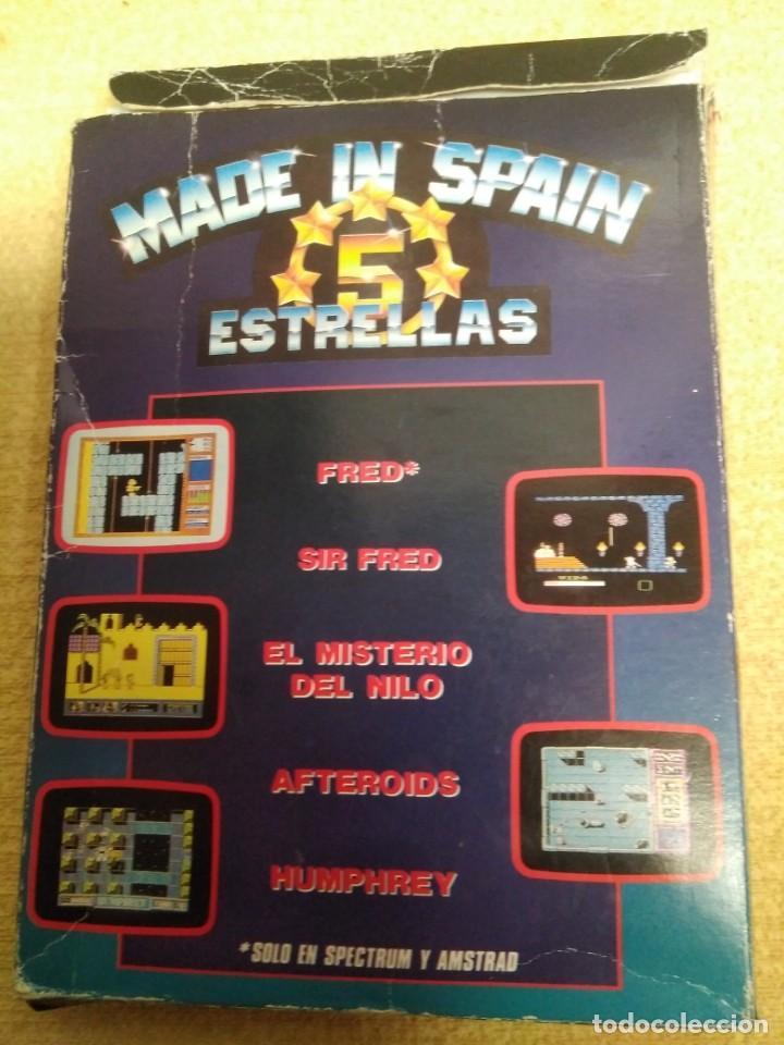 Videojuegos y Consolas: Juego Msx Made in Spain 5 estrellas - Foto 6 - 166963068