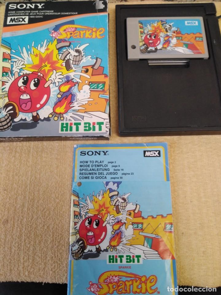 JUEGO MSX SPARKIE SONY (Juguetes - Videojuegos y Consolas - Msx)