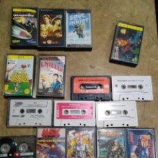 Videojuegos y Consolas: LOTE 12 JUEGOS MSX MÁS EXTRAS. Lote 168260632