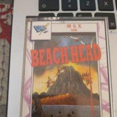 Videojuegos y Consolas: BEACH HEAD 1988. Lote 168352656