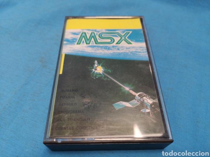 DATA MSX, GEASA MADRID, SUMARIO, PIZARRA, PATÍBULO, CRUCIGRAMA..... (Juguetes - Videojuegos y Consolas - Msx)