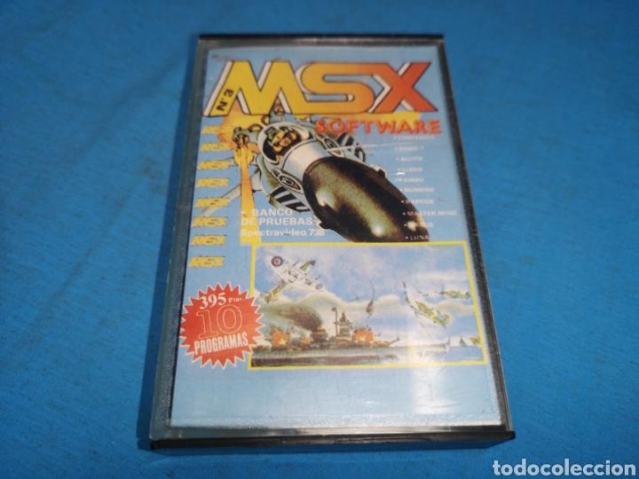 MSX SOFTWARE NUMERO 3 (Juguetes - Videojuegos y Consolas - Msx)