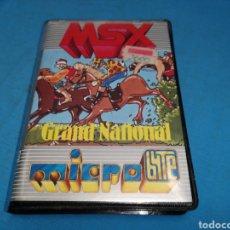 Videojuegos y Consolas: GRAND NATIONAL JUEGO MSX. Lote 171131333