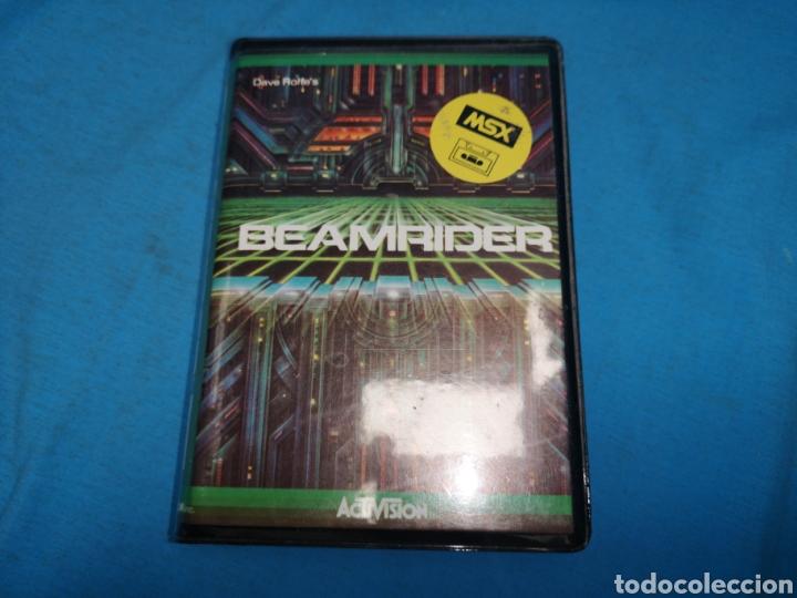 MSX BEAMRIDER, CINTA DE CASSETTE, ACTIVISION (Juguetes - Videojuegos y Consolas - Msx)