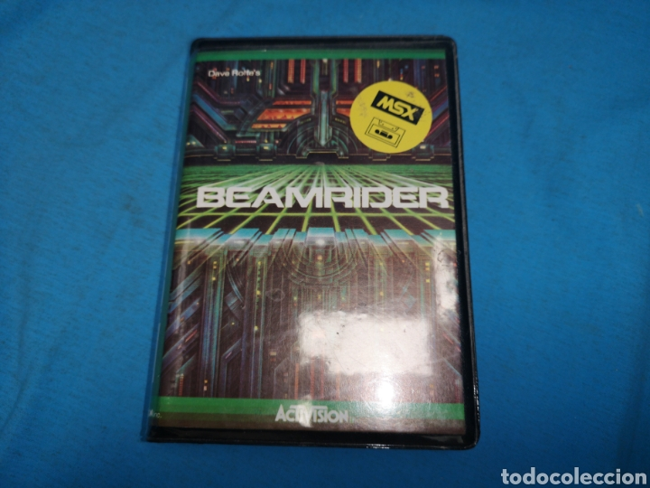 Videojuegos y Consolas: Msx beamrider, cinta de cassette, Activision - Foto 2 - 171132104