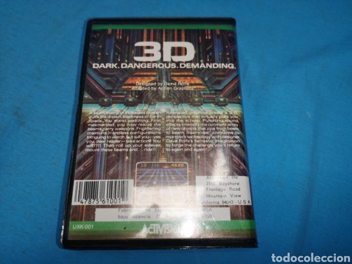 Videojuegos y Consolas: Msx beamrider, cinta de cassette, Activision - Foto 3 - 171132104
