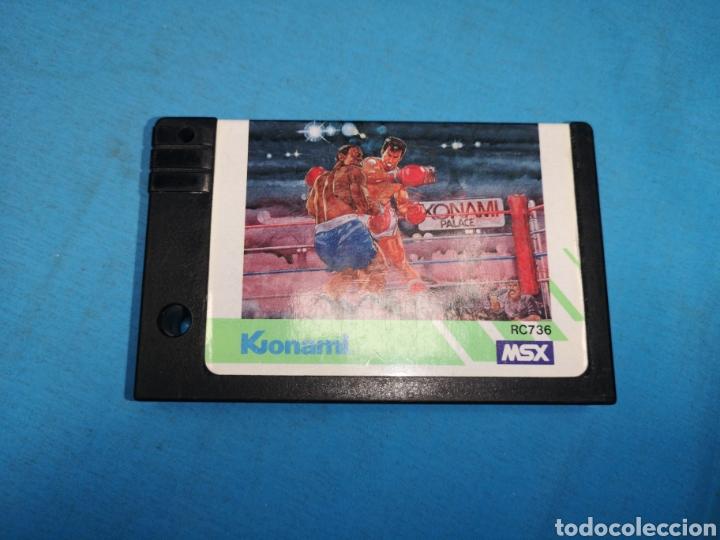 JUEGO CARTUCHO KONAMI, KONAMI'S BOXING 1985 RC736, MSX (Juguetes - Videojuegos y Consolas - Msx)