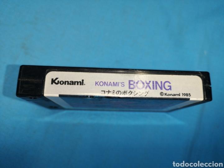 Videojuegos y Consolas: Juego cartucho Konami, konamis boxing 1985 rc736, msx - Foto 4 - 171132662
