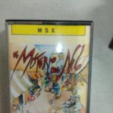 Videojuegos y Consolas: EL MISTERIO DEL NILO - MSX. Lote 171354049