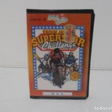 Videojuegos y Consolas: JUEGO MSX, SUPER STAR CHALLENGE, ESTUCHE RIGIDO, ZAFIRO SOFTWARE. Lote 171588119