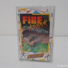 Videojuegos y Consolas: JUEGO MSX, FIRE HAWK, CINTA, PLAYERS. Lote 171588528