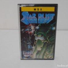 Videojuegos y Consolas: JUEGO MSX, STAR DUST, CINTA, TOPO SOFT. Lote 171588810