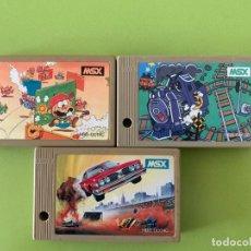 Videojuegos y Consolas: LOTE 3 CARTUCHOS MSX SONY HIT BIT. Lote 171696054