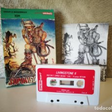 Videojuegos y Consolas: LIVINGSTONE SUPONGO II MSX. Lote 172391632