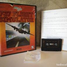 Videojuegos y Consolas: 737 FLIGHT SIMULATOR MSX. Lote 172393200