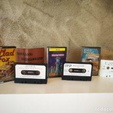 Videojuegos y Consolas: LOTE JUEGOS MSX PARIS DAKAR MAD FOX MEGACHESS. Lote 172394613