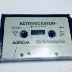 Videojuegos y Consolas: JUEGO MSX KEYSTONE KAPERS DE ACTIVISION. Lote 172926540