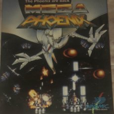 Videojuegos y Consolas: THE PHOENIX ARE BACK MEGA PHOENIX DINAMIC JUEGO MSX MSX 2 CASSETTE MEGAPHOENIX. Lote 173078705