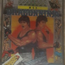 Videojuegos y Consolas: DRAGON NINJA MSX IMAGINE ERBE. Lote 173079629