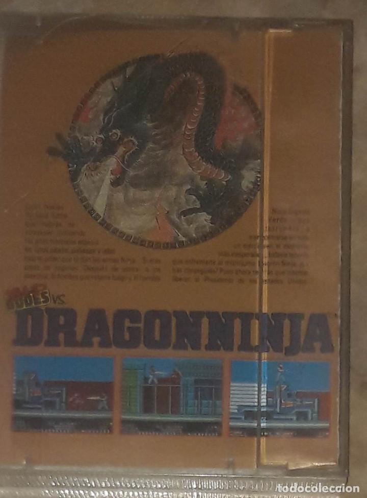 Videojuegos y Consolas: DRAGON NINJA MSX IMAGINE ERBE - Foto 2 - 173079629