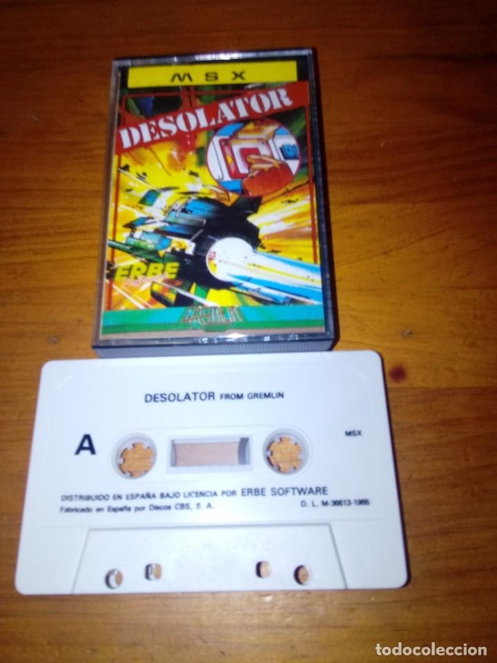 Videojuegos y Consolas: MSX. DESOLATOR. - Foto 2 - 173146974
