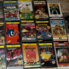 Videojuegos y Consolas: LOTE JUEGOS ORDENADOR MSX ROCKY RAMBO CHASE H.Q AVENGER LIVINGSTONE SUPONGO OUT RUN TEMPTATIONS. Lote 173865997